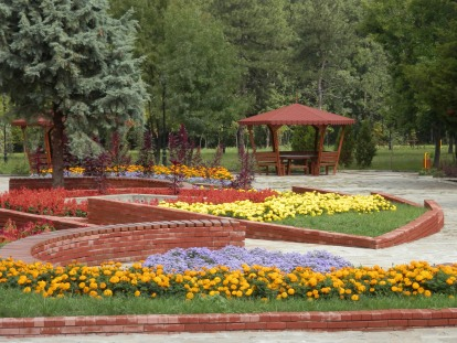 Парк в Минерални бани